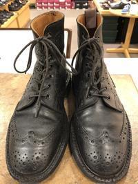 雨の日用の靴を育てる② - 池袋西武5F靴磨き・シューリペア工房