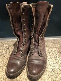 ブーツを救済する① - 池袋西武5F靴磨き・シューリペア工房