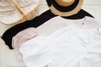 バルーン袖が可愛いブラウス&7月の「hughug*chu」洋服受注会のご案内! - Ange(アンジュ) - 小林市の雑貨屋 -
