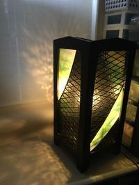 行灯 - Glass in