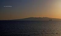 荒尾干潟 夕陽 - A  B  C