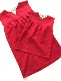 プレゼント用に親子お揃いワンピースのご注文を頂きました。 - 親子お揃いコーデ服omusubi-five(オムスビファイブ)