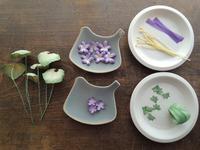 布花ニオイスミレ - 布花作りはじめました
