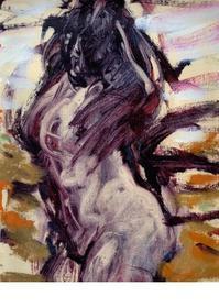 イッキ描きの画家・菊地理氏のブログと作品から探る絵を見るポイント(1) - ルドゥーテのバラの庭のブログ