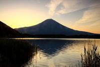 30年5月の富士(29)田貫湖の日の出の富士 - 富士への散歩道 ~撮影記~
