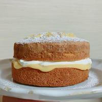 レモンのビクトリアサンドケーキ 追加レッスン - Fun Food Note