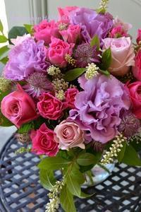 ご結婚のお祝いに♪花束。 - 花色~あなたの好きなお花屋さんになりたい~