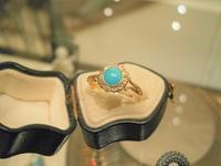 ターコイズとダイヤのリング - AntiqueJewellery GoodWill