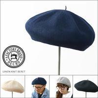 DECHO[デコー] LINEN KNIT BERET [4-2SD18] リネン・ニット・ベレー帽MEN'S/LADY'S - refalt blog
