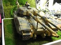 """地球連邦軍61式戦車5型 """"セモベンテ隊""""  その7  完成 - お手軽ガンプラ Season 2"""