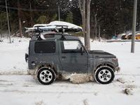 2018.01.27 大雪の走行では着氷注意 - ジムニーとカプチーノ(A4とスカルペル)で旅に出よう