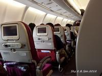◆ 機内食、その39 「クアラルンプール」へ(2016年11月) - 空と 8 と温泉と