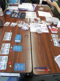 YSGA五月例会の様子そのⅨ (GMT)Wild Blue Yonder(空の彼方へ):航空戦カードゲーム【第1班3人】 - YSGA(横浜シミュレーションゲーム協会) 例会報告