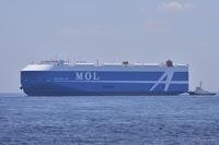 BELUGA ACE横浜港初入港&自衛艦いずも出港 - From Denaigner's finder