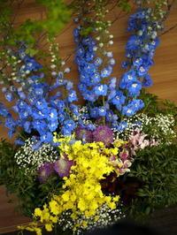 南15西11に開院の形成外科クリニックへの活け込み。2018/05/31。 - 札幌 花屋 meLL flowers