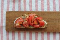 トマトのブルスケッタ - Nasukon Pantry