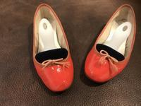 【Before/After】Repetto バレリーナシューズ パテント - Shoe Care & Shoe Order 「FANS.浅草本店」M.Mowbray Shop