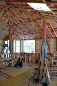窓枠設置/方形の平屋/岡山 - 建築事務所は日々考える
