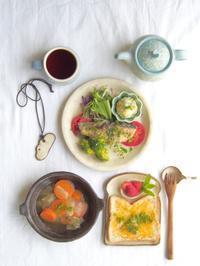 ぶりを朝ごはんに - 陶器通販・益子焼 雑貨手作り陶器のサイトショップ 木のねのブログ