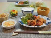 お料理教室再現!晩ごはん♪ - 365のうちそとごはん*:..。o○☆゚