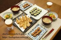 休日前夜のおうち居酒屋さん&熊本産黒小玉すいか食べた~~(o^^o) - おばちゃんとこのフーフー(夫婦)ごはん