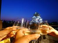 大阪城の真横で乾杯!! @MIRAIZA大阪城 - 猫空くみょん食う寝る遊ぶ Part2
