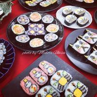 週末は飾り巻き寿司認定講座 〜 in 築地 - 料理研究家・うきすみどりの寿司ワールド