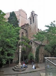 聖体祭5聖アンナ教会 - gyuのバルセロナ便り  Letter from Barcelona