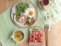 苦肉の策の朝ごはん - 陶器通販・益子焼 雑貨手作り陶器のサイトショップ 木のねのブログ