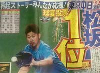 東京中日スポーツだけでなく、一般紙でも - Pushpin Diary(L.J.Style Book)