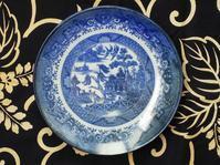 明治印判ウイローパターンの皿 - Coron's  style