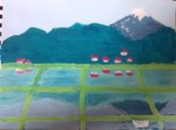 水鏡 - たなかきょおこ-旅する絵描きの絵日記/Kyoko Tanaka Illustrated Diary