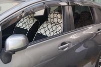【日産ノート】にシートカバーを装着しました - かわいいカー雑貨のお店ココトリコ★さくらのブログ