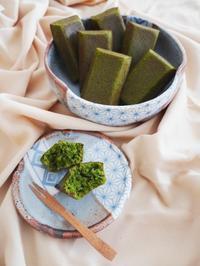 抹茶のフィナンシェとチョコフィナンシェ♪ - This is delicious !!