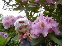~今日のお花 石楠花~ - 雪うさぎのお裁縫箱