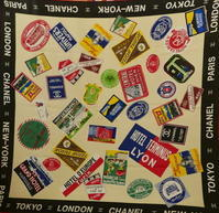 CHANEL travel scarf - carboots
