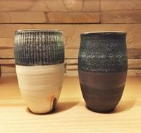丹波焼ココチ舎のビアカップ - じばさんele