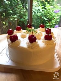 お誕生日ケーキレッスン - 調布の小さな手作りお菓子教室 アトリエタルトタタン