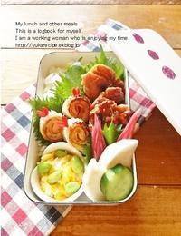 6.6 照り焼きチキン弁当&新連載「今日のすき間埋めおかず」Vol.2 - YUKA'sレシピ♪