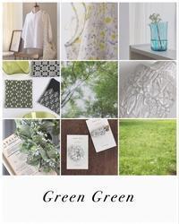 企画展craft fair 「Green Green」 - カエコ手芸店 こぎん刺しの小もの
