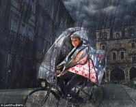 未来の傘はエアバリヤー★聞き逃さなかった - 月夜飛行船