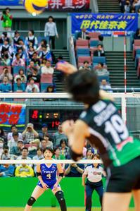峯村沙紀 ~東レアローズ~ - Tatsuya Uehara Photo Blog S