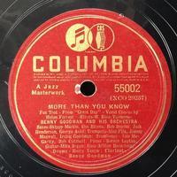 ベニー・グッドマンの12インチSP盤 - シェルマン アートワークス 蓄音機blog