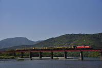 DD51+14系 サロンカーなにわ号 日置川橋梁 - レイルウェイの記憶