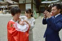 大神神社お宮参り - Kiki日記・結婚式カメラマンの子育てブログ