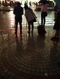 新宿西口雨のバスターミナル - 東京雑派  TOKYO ZAPPA