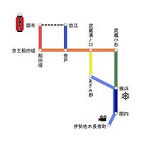 横浜から調布へ - 気まぐれ/ぶらりシリーズ