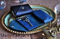 新作・イタリアンレザー・アリゾナ・コンパクトキー財布・時を刻む革小物 - 時を刻む革小物 Many CHOICE~ 使い手と共に生きるタンニン鞣しの革