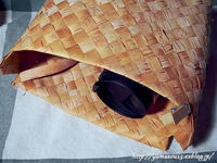 自宅使いタンブラーの入る鞄製作開始 - ロシアから白樺細工