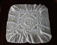 コットンクッション用の刺繍布67   sold out! - スペイン・バルセロナ・アンティーク gyu's shop